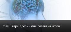 флеш игры здесь - Для развития мозга