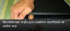 бесплатные игры для слабого ноутбука на сайте игр