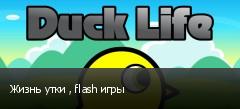 Жизнь утки , flash игры