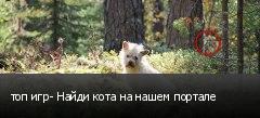 топ игр- Найди кота на нашем портале