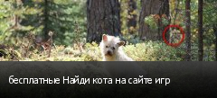 бесплатные Найди кота на сайте игр