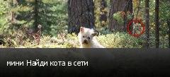 мини Найди кота в сети