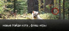 новые Найди кота , флеш игры