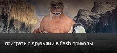 поиграть с друзьями в flash приколы
