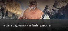 играть с друзьями в flash приколы