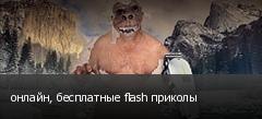 онлайн, бесплатные flash приколы