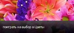 поиграть на выбор в Цветы