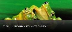 флеш Лягушки по интернету