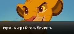 играть в игры Король Лев здесь