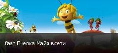 flash Пчелка Майя в сети