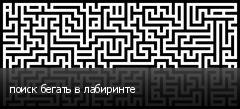 поиск бегать в лабиринте