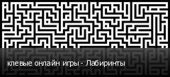клевые онлайн игры - Лабиринты