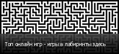 Топ онлайн игр - игры в лабиринты здесь