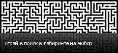 играй в поиск в лабиринте на выбор