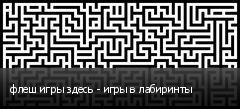 флеш игры здесь - игры в лабиринты