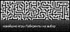 новейшие игры Лабиринты на выбор