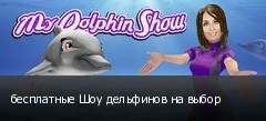 бесплатные Шоу дельфинов на выбор