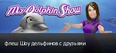 флеш Шоу дельфинов с друзьями