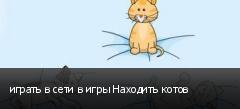 играть в сети в игры Находить котов