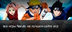 все игры Naruto на лучшем сайте игр