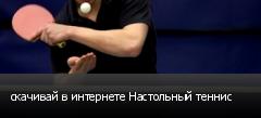 скачивай в интернете Настольный теннис