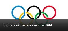 поиграть в Олимпийские игры 2014