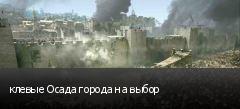 клевые Осада города на выбор
