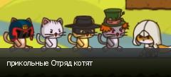 прикольные Отряд котят