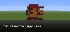 флеш Пиксель с друзьями