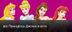 все Принцессы Диснея в сети