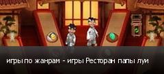 игры по жанрам - игры Ресторан папы луи