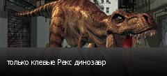 только клевые Рекс динозавр
