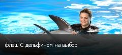 флеш С дельфином на выбор