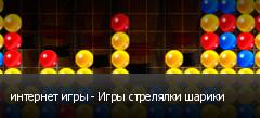 интернет игры - Игры стрелялки шарики