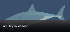 все Акулы сейчас