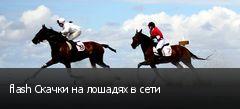 flash Скачки на лошадях в сети
