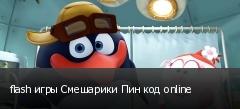 flash игры Смешарики Пин код online