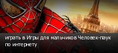 играть в Игры для мальчиков Человек-паук по интернету