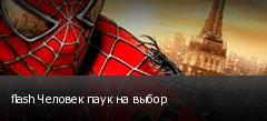 flash Человек паук на выбор