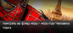 поиграть во флеш игры - игры про Человека паука