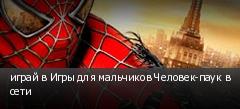 играй в Игры для мальчиков Человек-паук в сети