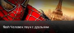 flash Человек паук с друзьями