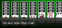 топ игр- игры Паук у нас
