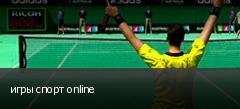 игры спорт online