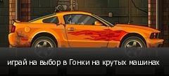 играй на выбор в Гонки на крутых машинах
