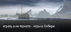 играть в интернете - игры в Сибири