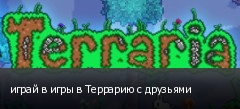 играй в игры в Террарию с друзьями