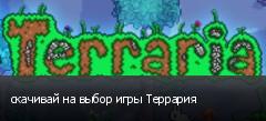 скачивай на выбор игры Террария