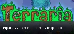 играть в интернете - игры в Террарию