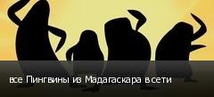 все Пингвины из Мадагаскара в сети